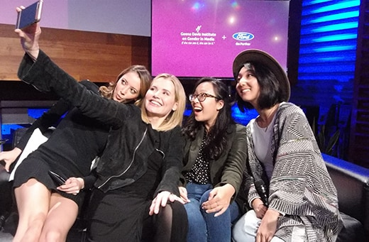 Geena Davis Selfie, Taryn Southern, Yulin Kuang, Clara C