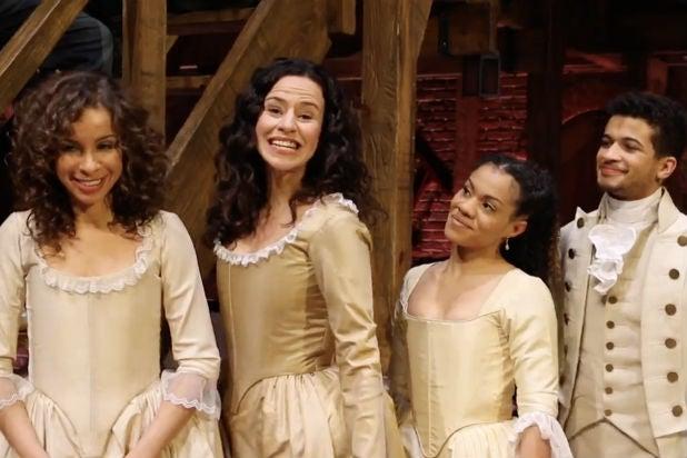 Watch Hamilton Cast Serenade Lin Manuel Miranda On Oscar Red