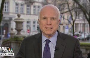 John McCain Meet the Press