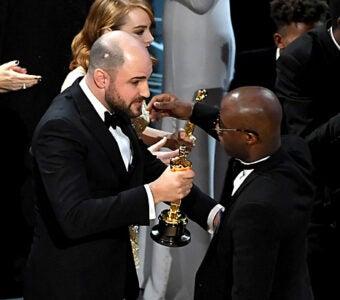 Jordan Horowitz Barry Jenkins Oscars