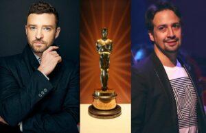 Justin Timberlake Lin Manuel Miranda