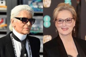Karl Lagerfeld Meryl Streep Oscars
