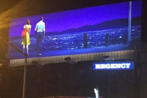 La La Land billboard