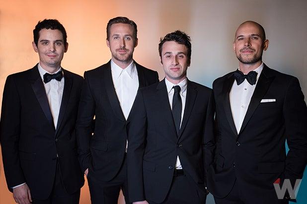 Damien Chazelle, Ryan Gosling, Justin Hurwitz, Fred Berger, La La Land