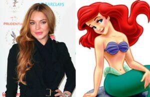 Lindsay Lohan Little Mermaid