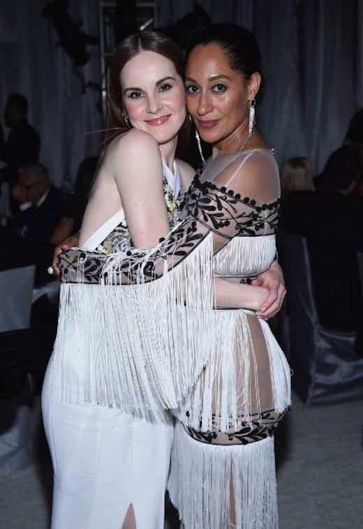 Michelle Dockery (L) and Tracee Ellis Ross