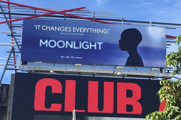 Moonlight billboard
