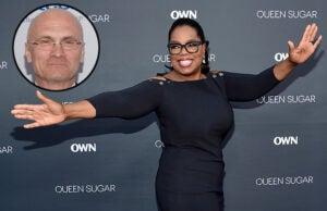 Oprah Winfrey and Andrew Puzder