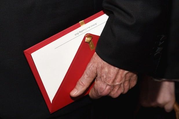 Oscars envelope