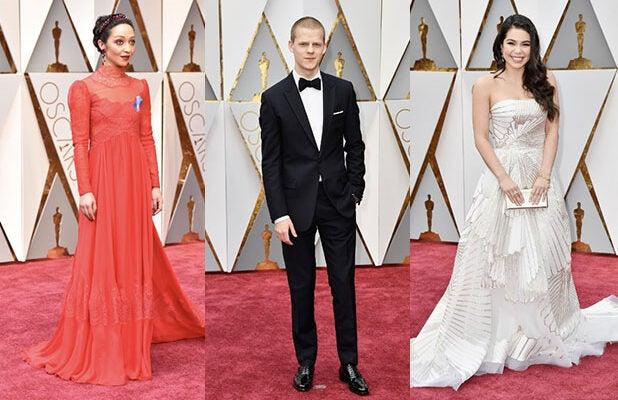 Oscars 2017 red carpet arrivals ruth negga academy awards