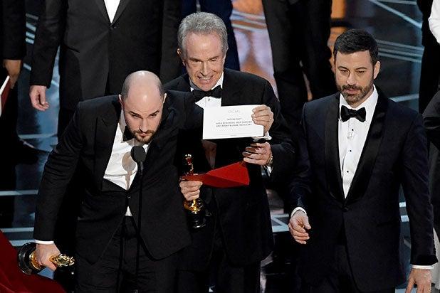 Oscars Moonlight La La Emma Stone