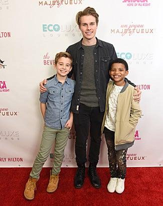Parker Bates, Logan Shroyer and Lonnie Chavis