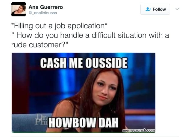 cash me outside