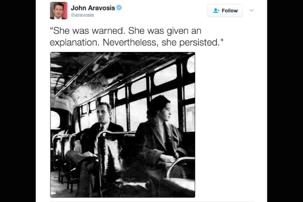 rosa parks nevertheless she persisted