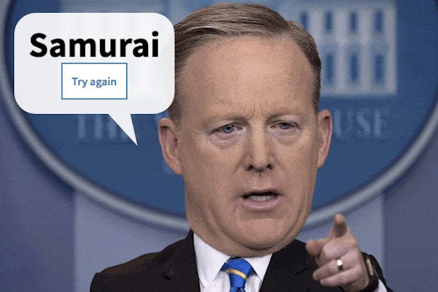 Take Your Turn With the Sean Spicer Name Generator and See How He'd