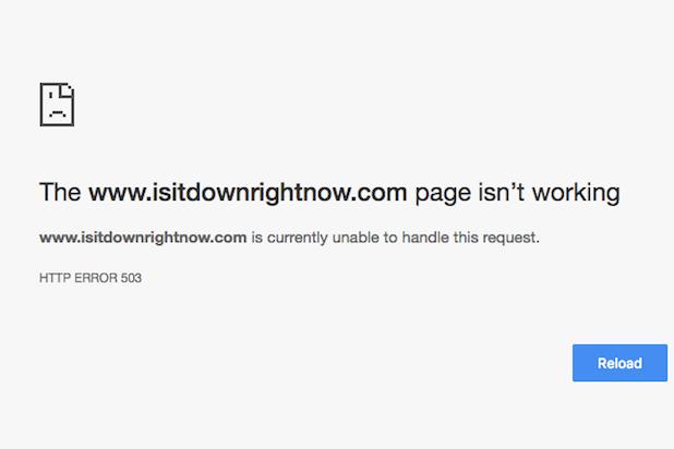 intenet outage isitdownrightnow.com