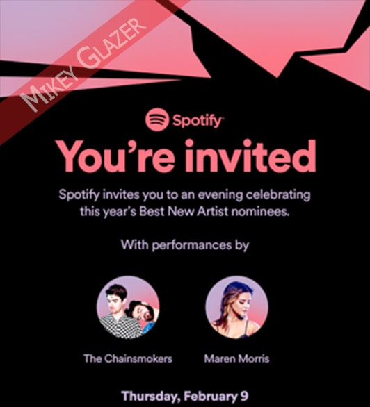 c6df1d60b7aa Grammy Parties 2017  The Most Sought After Invites (Updating)