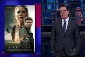 Stephen Colbert Arrival