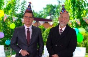 Stephen Colbert John Malkovich