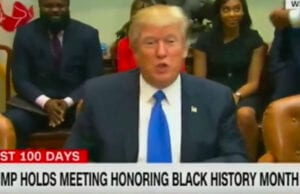 Donald Trump Black History Month Omarosa
