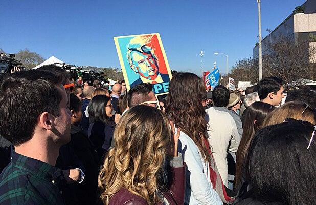 UTA Oscar Protest