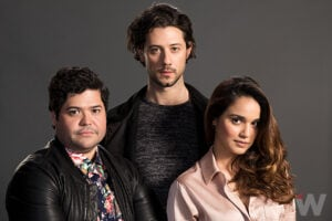 Harvey Guillen, Hale Appleman, Summer Bishil, The Magicians