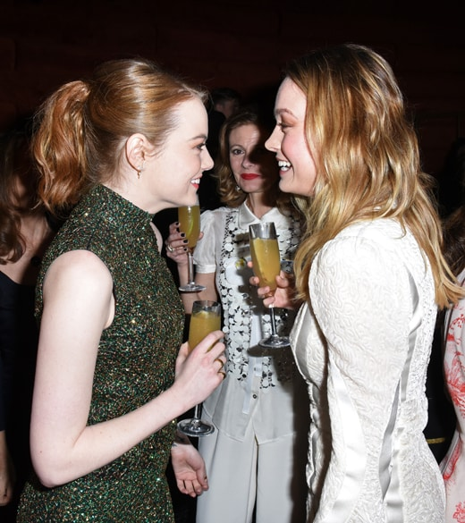 Emma Stone and Brie