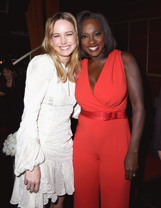 Brie Larson and Viola Davis, Brie Larson and Viola Davis,