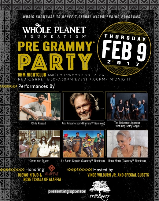 Whole Planet Grammy Party