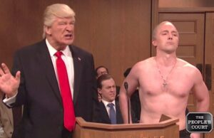 alec baldwin donald trump putin snl people's court saturday night live