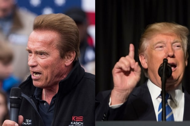 'The Ratings Are In': Arnold Trolls Pres. Trump Over 37 Percent Approval