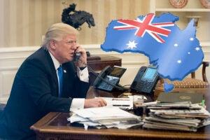 australia trump