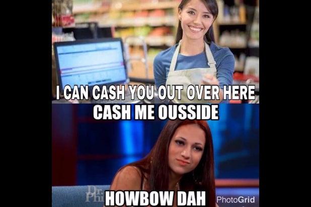 cash me ousside