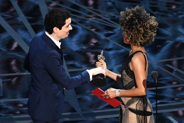 Halle Berry Damien Chazelle Oscars
