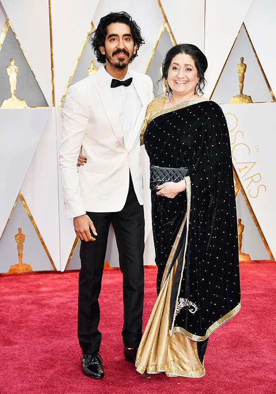 Dev Patel and mom Anita Patel