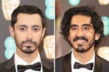 riz ahmed dev patel baftas burberry