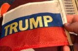 donald trump cpac russian flag