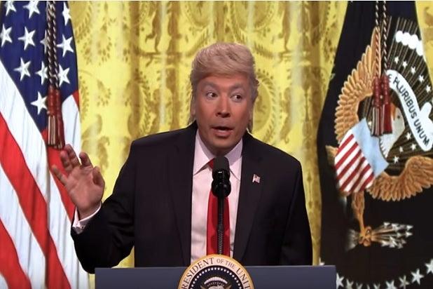 donald trump press conference late night