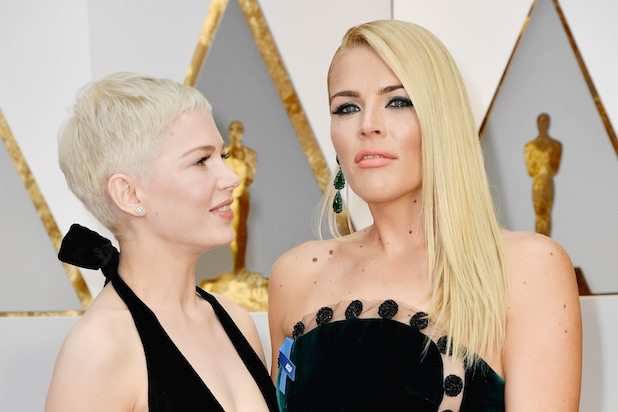 Michelle Williams Busy Philipps Oscars