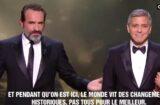 george clooney cesar awards donald trump