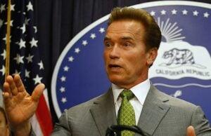 Arnold Schwarzenegger governor