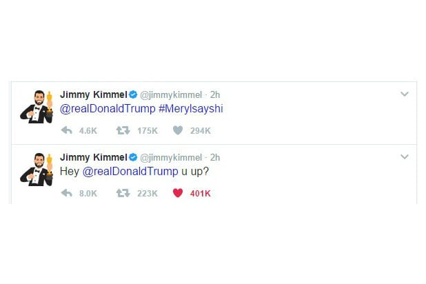 jimmy kimmel oscars tweets