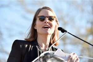 jodie foster uta rally immigration ban trump