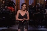 new snl saturday night live kristen stewart march 25 re-run monologue f bomb