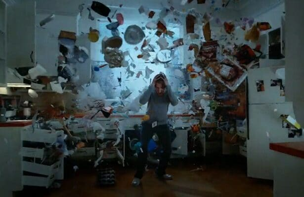 legion timeline david blows up kitchen
