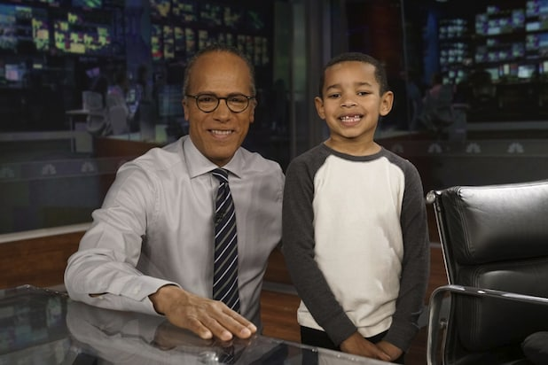 Viral 7 Year Old Lester Holt Fan Meets His Idol Video