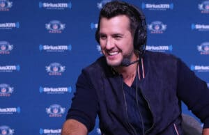 SiriusXM Radio Row - Day 1 luke bryan super bowl national anthem