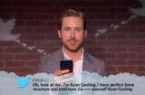 Mean Tweets Oscars