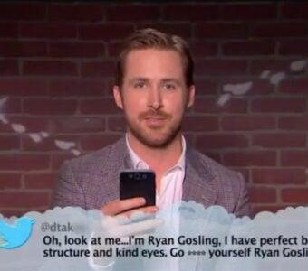 Mean Tweets Oscars