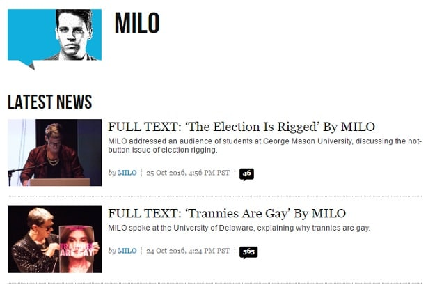 Milo Yiannopoulos' Rise and Fall, From GamerGate to Pedophilia